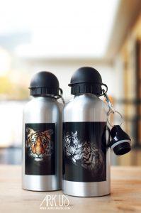 boite,metal,photo,iamge,chat,animal,personnalisé,original,unique,cadeau,idée, animaux, panda,mignon, gourde, tigre